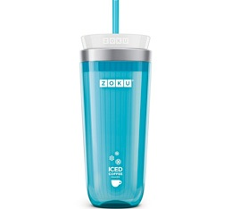 Zoku Iced Coffee Maker ZK121-TL Bleu Turquoise pour caf� et th� glac�