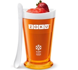 Zoku Slush & Shake Maker orange - coupe réfrigérante express