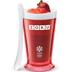 Zoku Slush & Shake Maker rouge - coupe r�frig�rante express