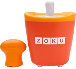 Sorbeti�re Zoku Pop Maker � esquimaux instantan�e orange