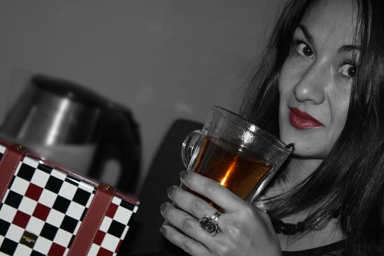 Pam et le thé