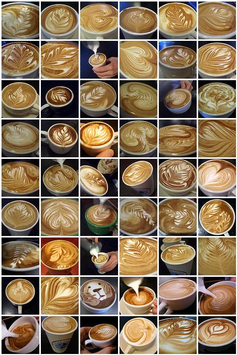 saba7 el fol ya shabeb wel yasmine w kel chi 3assal :p Latte-art-barista