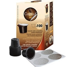 capsul 39 in la nouvelle capsule compatible nespresso est sur maxicoffee. Black Bedroom Furniture Sets. Home Design Ideas