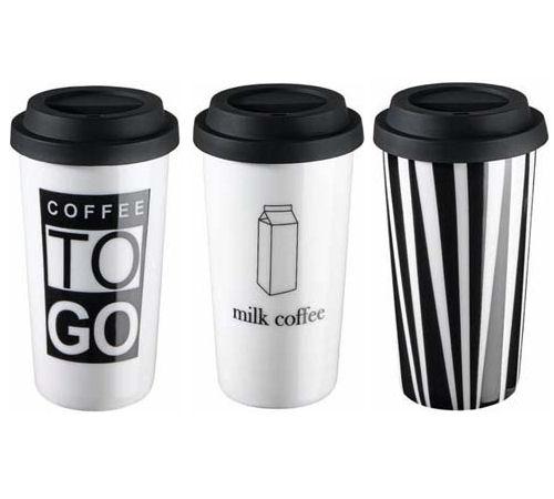 Thermos café mug