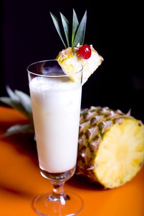 Pinacolada cocktail