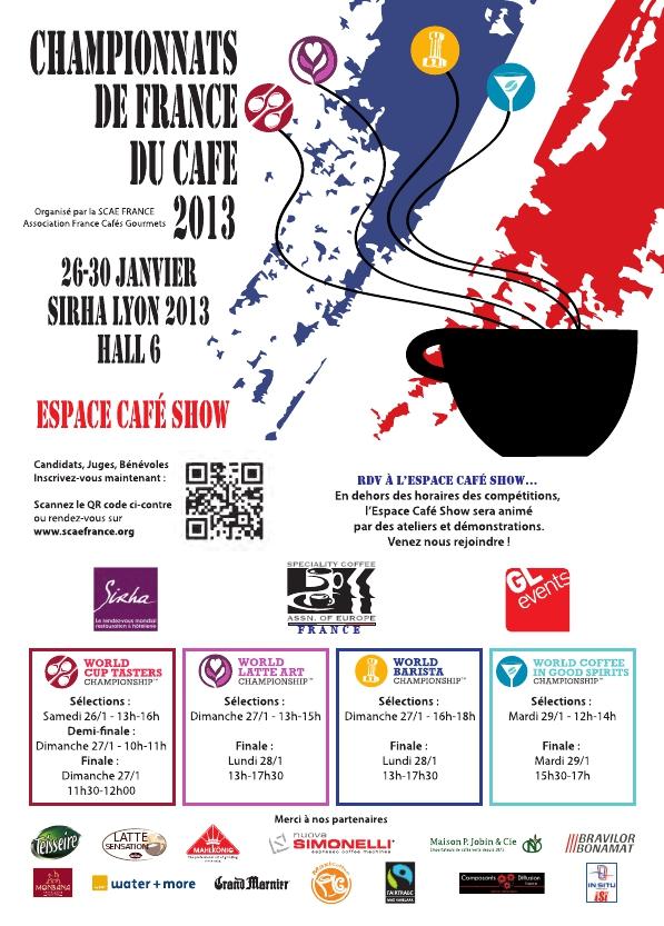 SIRAH 2013 - Championnat de France Café