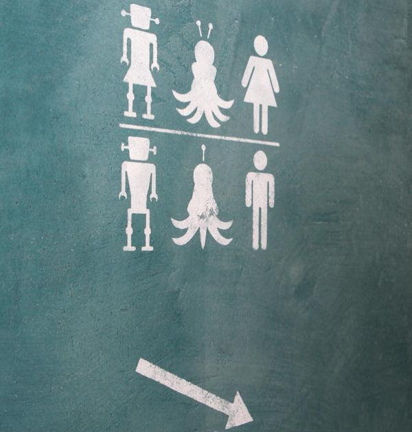 Signalisation des toilettes