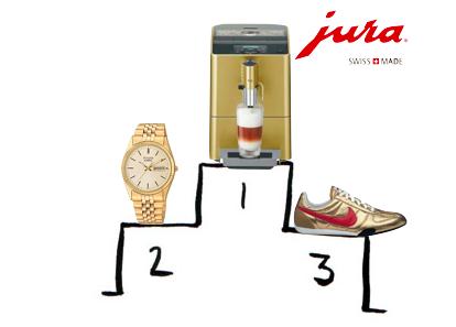 Podium Jura ENA Gold