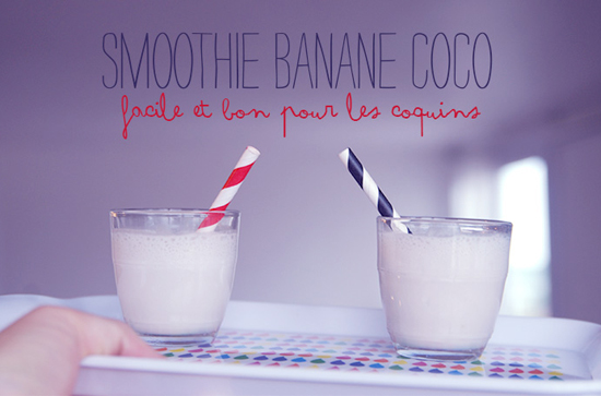 smoothie recipe banana coconut energy childrenminireyve