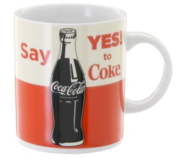 Mug Coca Cola Say Yes To Coke