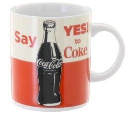 Mug Coca Cola Say Yes To Coke