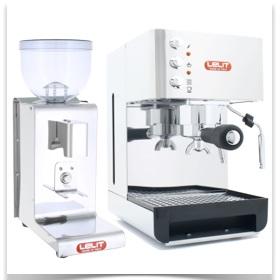 1er Pack machine expresso + moulin Lelit