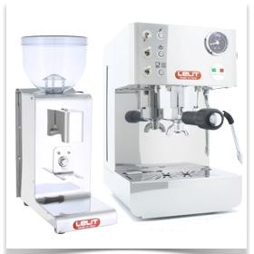 3ème Pack machine expresso + moulin Lelit