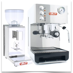 2ème Pack machine expresso + moulin Lelit