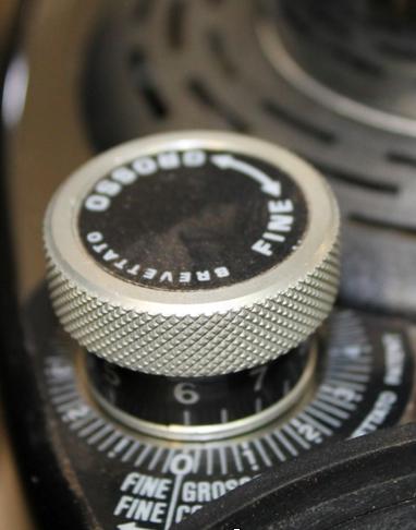 Réglage micrométrique Eureka