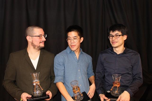 Podium 2014 des brewers Cup