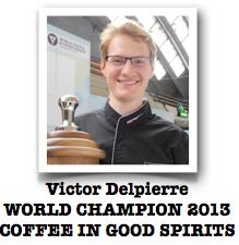 victor delpierre champion du monde 2013 coffee in good spirits