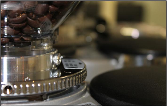 mazzer reglage micrométrique