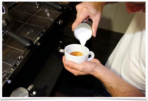 Test cappuccino de la victoria arduino black eagle