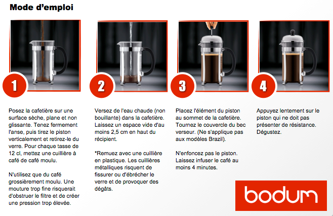 Le slow coffee se d mocratise - Utilisation cafetiere a piston ...