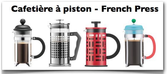 cafetière à piston