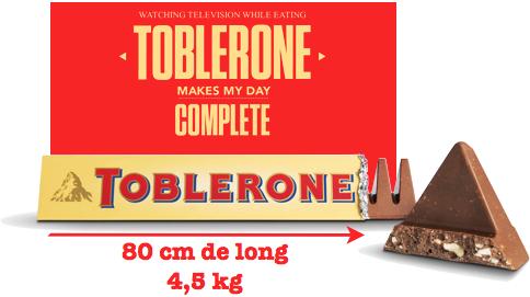toblerone geant 4,5kg