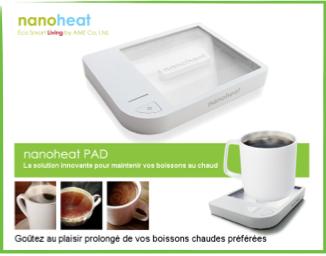 plaquette nanoheat