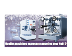 Machines expresso selection de Noel