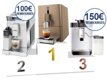 Podium machines expresso automatiques