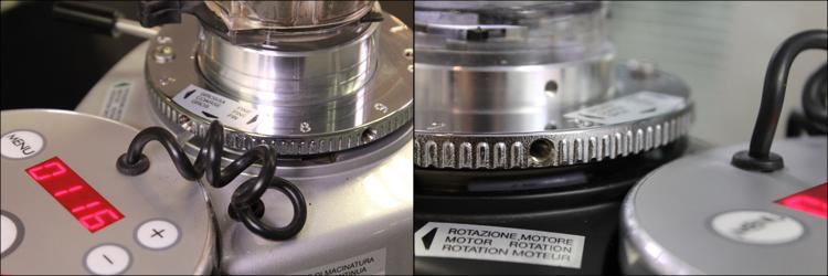 Reglage micrometrique Mazzer