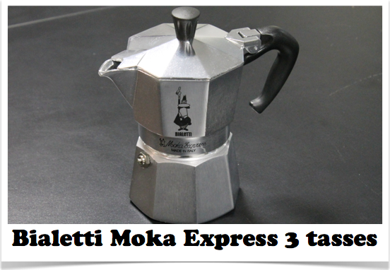 exemple cafetiere italienne bialetti moka express