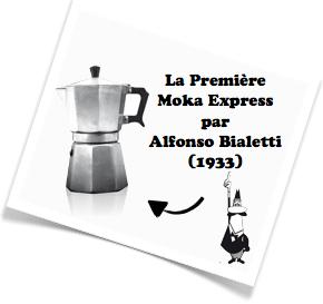 premiere cafetiere italienne