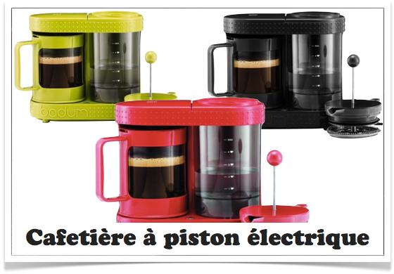 cafetière à piston électrique