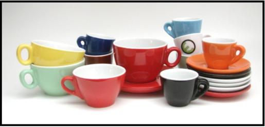 tasses et sous tasses inker
