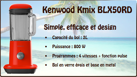 blender kenwood kmix BLX50RD
