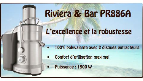 centrifugeuse riviera et bar