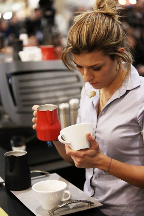 Latte Art Charlotte Malaval