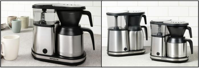 cafetières filtres bonavita 2