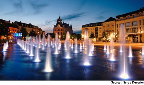 place des épars à Chartres