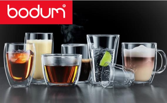 gamme verres double paroi bodum