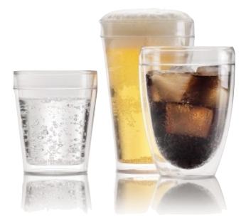 verres double paroi plastique bodum