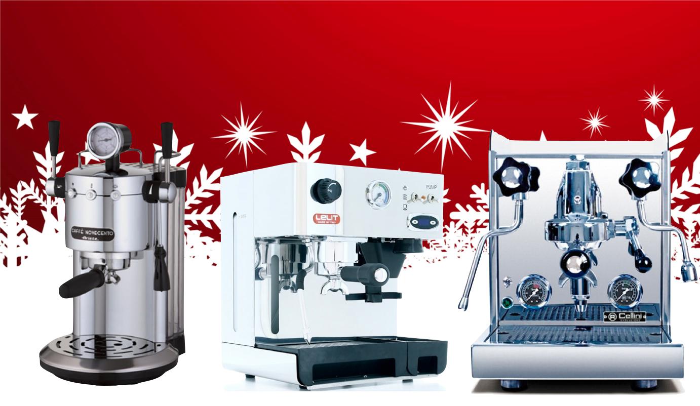 Noël 2015 Machines Espresso