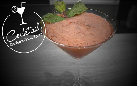 Strawberry Field : Cocktail froid avec alcool – Fraises / Vodka