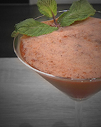 Strawberry Field : Cocktail froid avec alcool - Fraises / Vodka