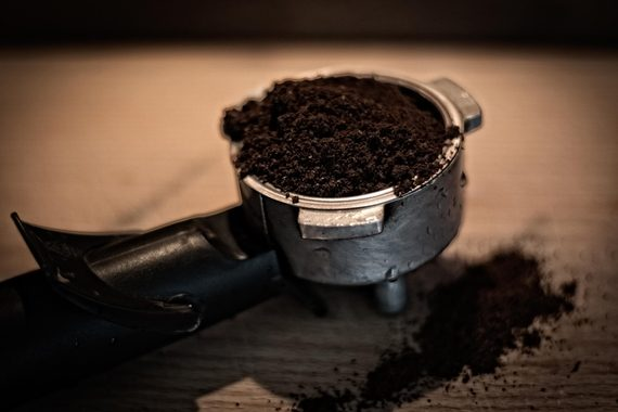 What to do with your left-over coffee grounds?
