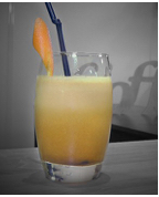 Sweety Blossom : Cocktail froid avec alcool - Orange / Gin