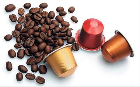cafe capsule grains