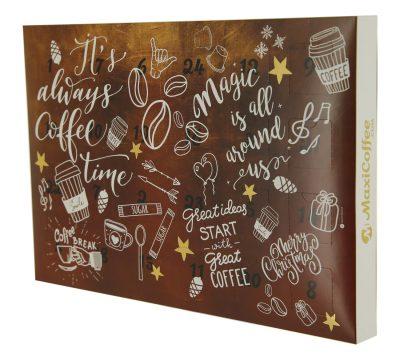 calendrier de l 39 avent caf th chocolat. Black Bedroom Furniture Sets. Home Design Ideas