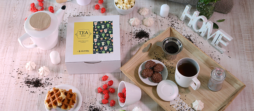 Coffret Tea-Time Novembre : place à la gourmandise