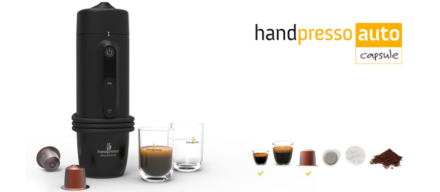 Nespresso® capsules compatible Handpresso Auto : our test and review